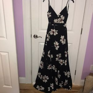 L'Tiste backless flower dress size S